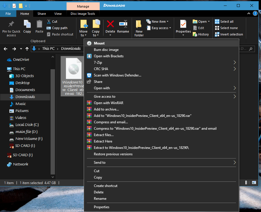 windows 10 x64 bit iso