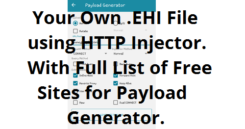 How To Create  EHI File For Globe, TM, Smart, TNT and Sun
