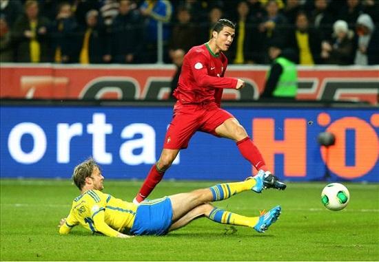 Ronaldo đã phung phí quá nhiều cơ hội ghi bàn.