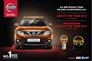 penghargaan Nissan Xtrail