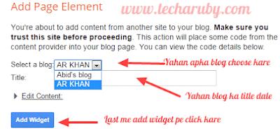 Disqus widget in blogger