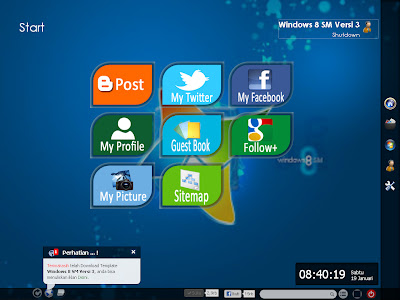 Template Blogger Windows 8 SM (V.3)
