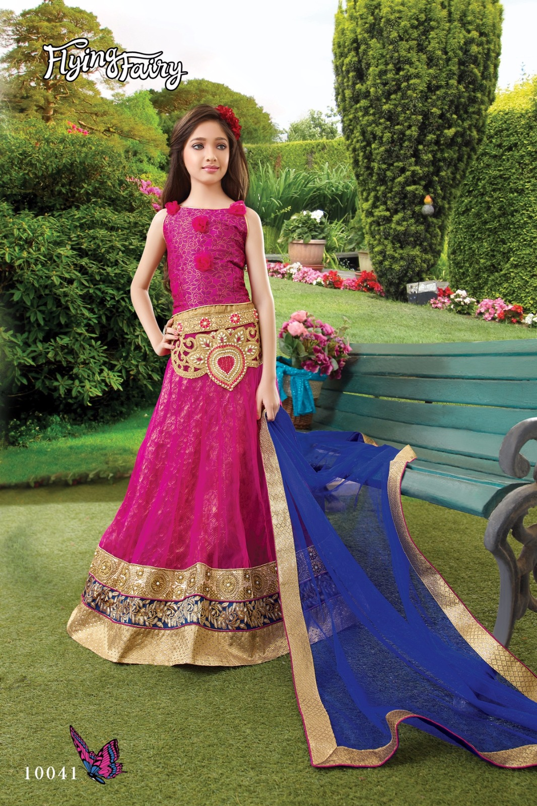 Flying Fairy – Children Wear Stylish And Heavy Embroidery Lehenga Choli