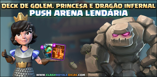 Deck PUSH Arena 9 Clash Royale