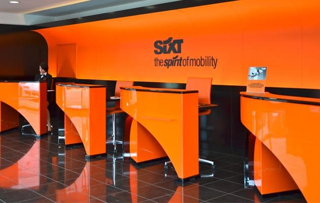 Melhores locadoras de carro da Suíça - Sixt