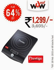 Prestige Pic 10.0 Induction Cooker – 2000 Watt just for Rs.1299 Only @ Greendust
