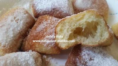 خبز مقلي من أيام زمان