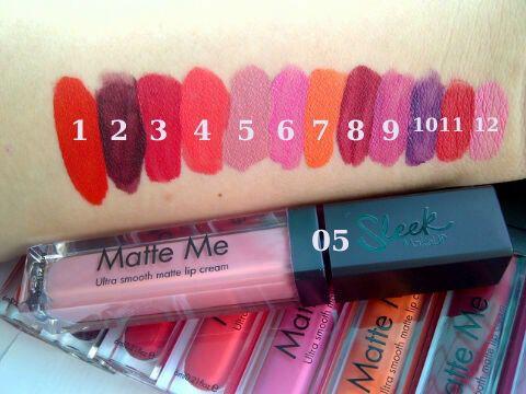 SLEEK MATTE ME - Matte Me Sleek