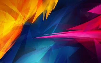 Wallpaper: Abstract Sharp Shapes