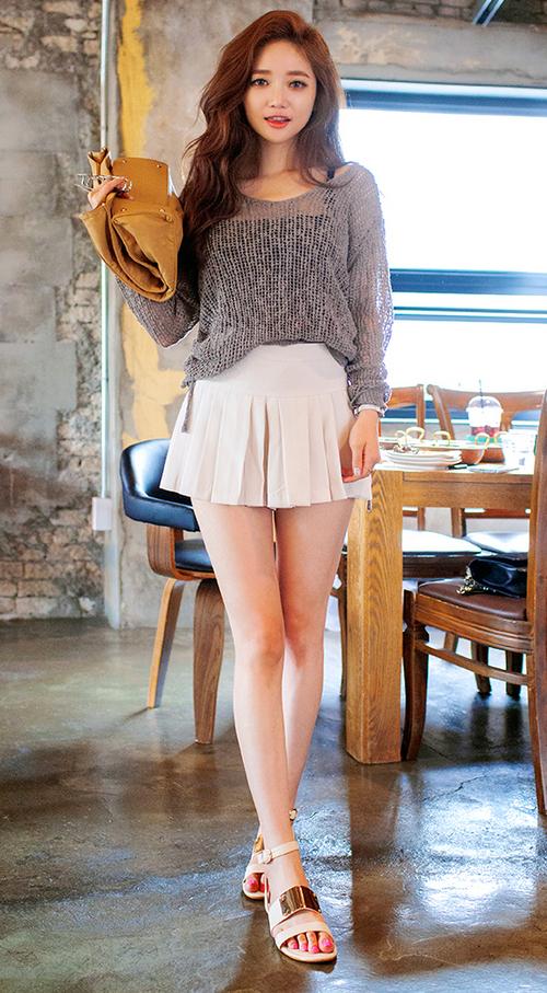 Chuu Side Tie Knit Pullover Kstylick Latest Korean