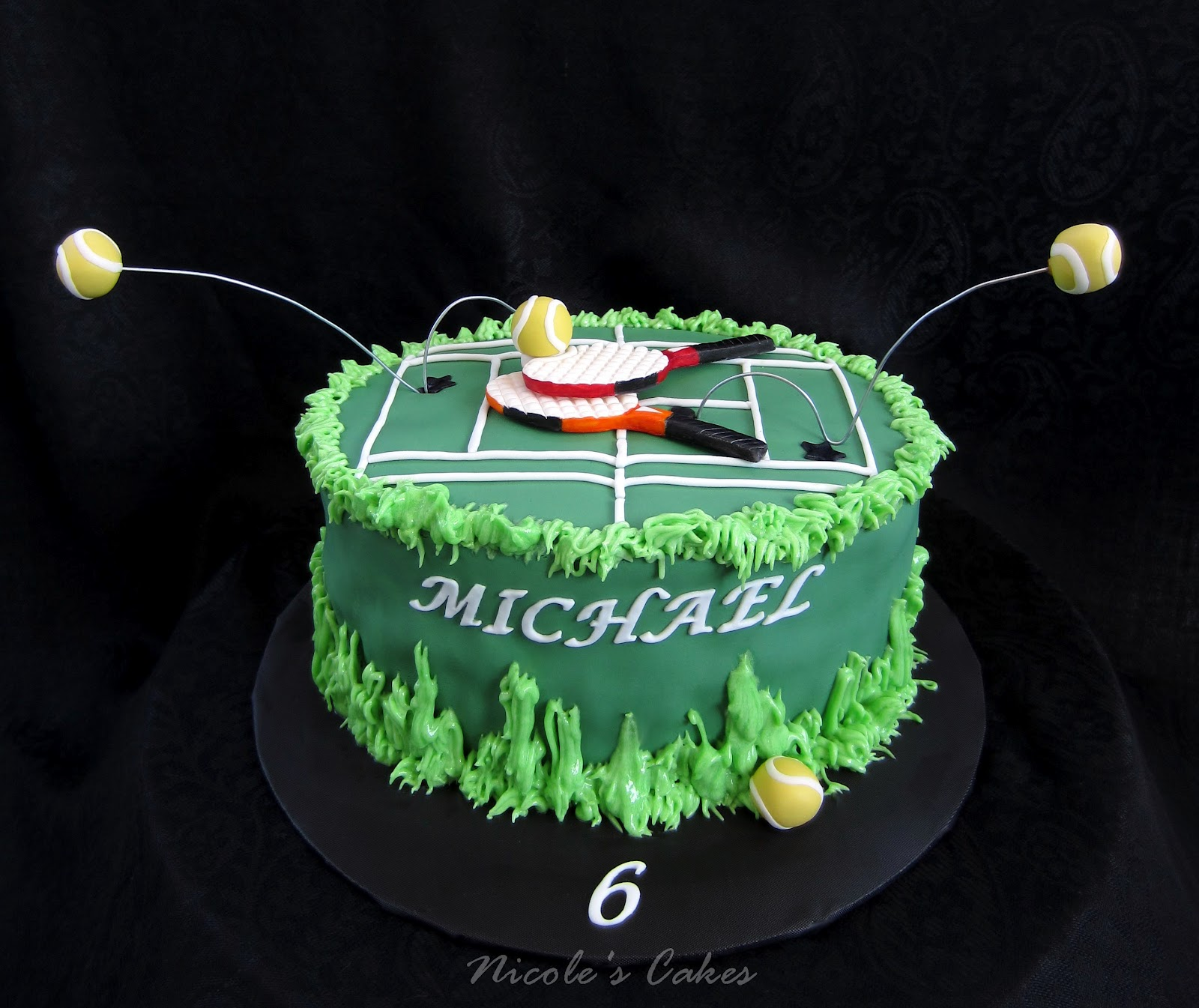 Confections Cakes Amp Creations Tennis Anyone A Tennis