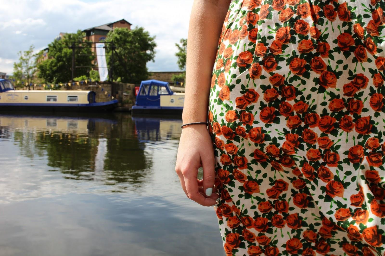 ASOS Floral Smock Dress