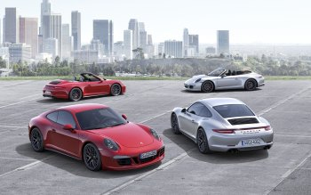 Wallpaper: Porsche 911 Carrera GTS 2015