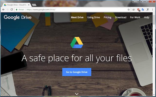 Menyimpan Data Penting di Google Drive
