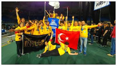 ABD'deki robot yarışmasında Türk lise takımı ödül aldı