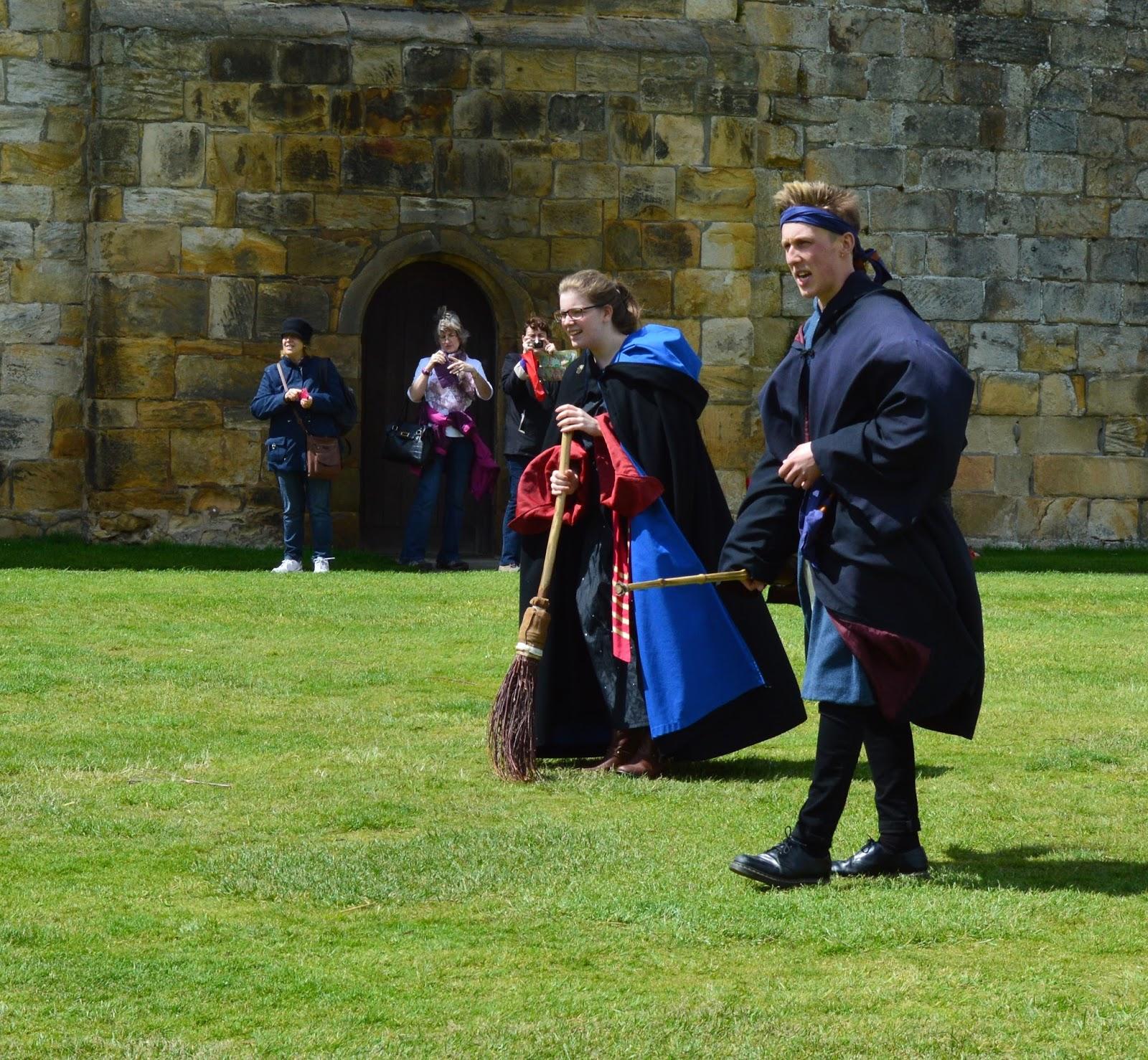 Alnwick Castle | Harry Potter Broomstick Training