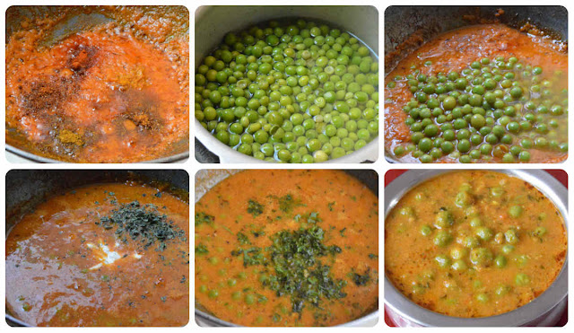 Green peas masala no onion no garlic
