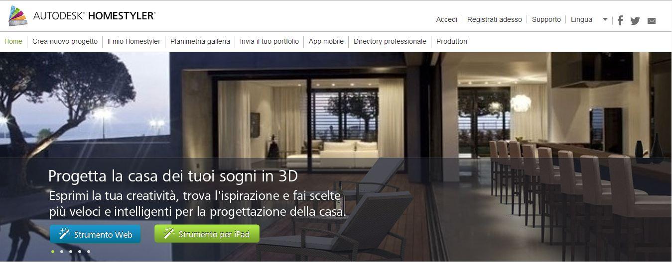 Arredare casa progettare l 39 arredamento di casa con il for Software arredamento interni gratis