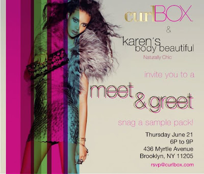 Event Scoop: curlBOX and Karen's Body Beautiful Meet & Greet Event