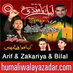 http://www.humaliwalayazadar.com/2016/10/arif-bilal-zakariya-brothers-bilal.html