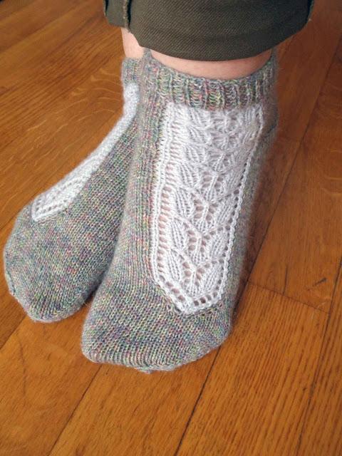 chaussettes tricotés en Katia Olé socks comfort