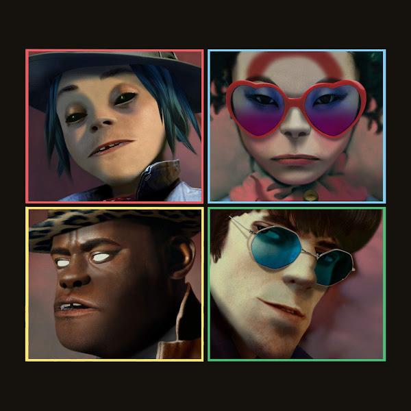 Gorillaz - Humanz (Deluxe) Cover