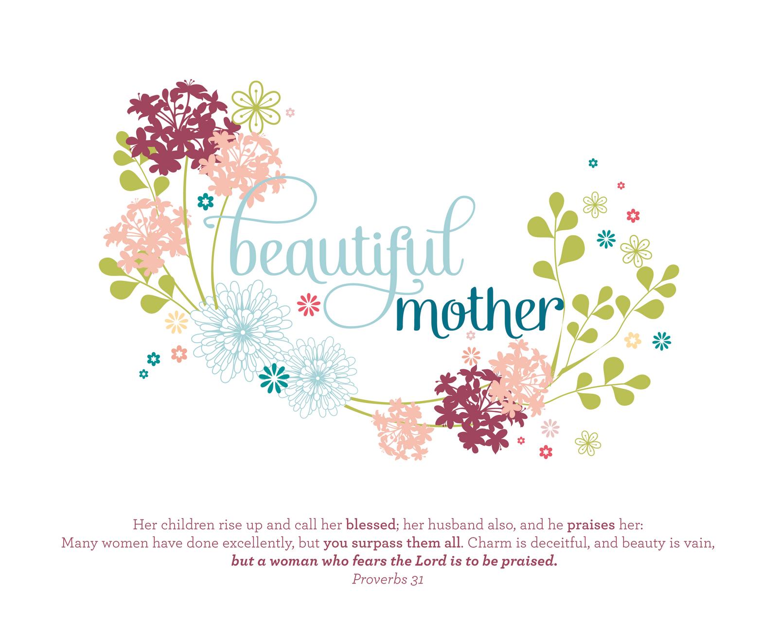 Mother S Day Print Amp Card Ashlee Proffitt