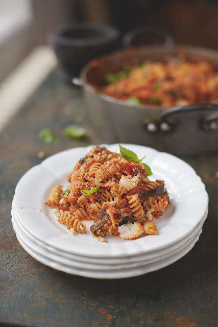 Recipe for Jamie's Oliver's Happiness Pasta from Everyday Super Food