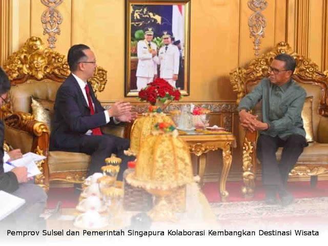 Pemprov Sulsel dan Pemerintah Singapura Kolaborasi Kembangkan Destinasi Wisata