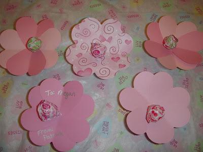 Margaret's Morsels | Dum Dum Valentine Flowers