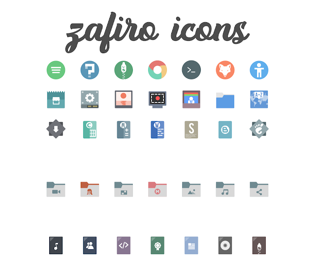 Zafiro Icon themes