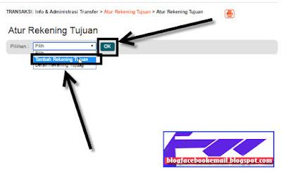 cara transfer rekening BNI online