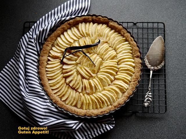 Krucha tarta z jabłkami - Czytaj więcej »