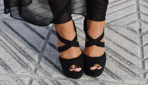 Pretty black feet images