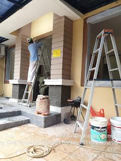 Renovasi Rumah Cluster Santiago, De Latinos, BSD