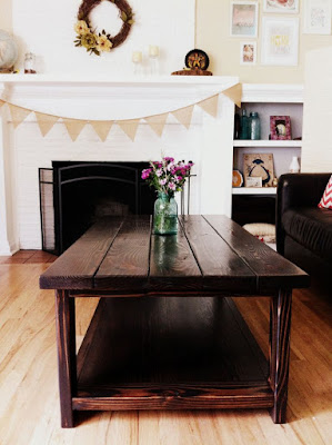DIY repurposed window table inspiration photo