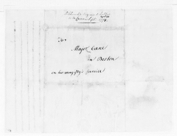 Dr Benjamin Church Jr: The Infamous Cipher Letter