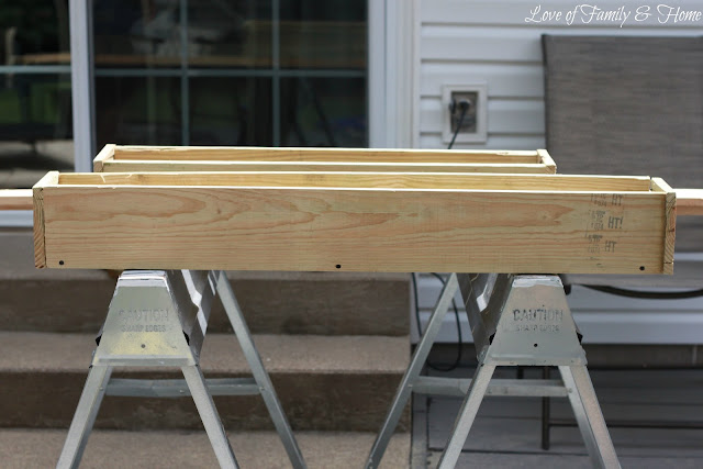 Easy Amp Inexpensive Diy Window Boxes Love Of Family Amp Home