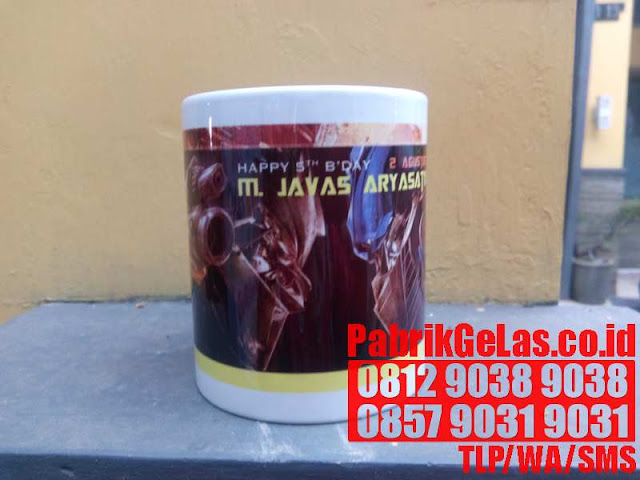 SABLON GELAS SOUVENIR DI SURABAYA JAKARTA