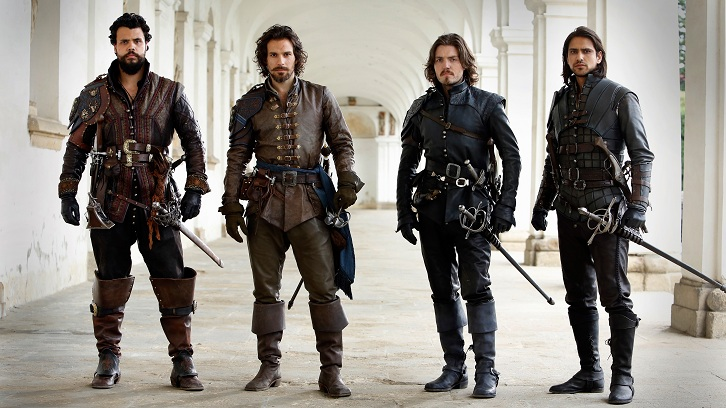 The Musketeers - Simon Allen and Simon J Ashford Q&A