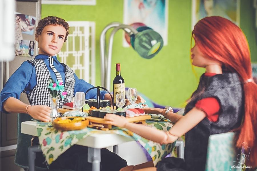 barbie and ken's dinner