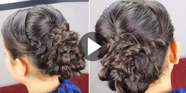 Learn - How To Create Elegant Hairstyle With Braids Hairstyle, See Tutorial