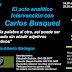 Carlos Busqued, darle la escritura a otro
