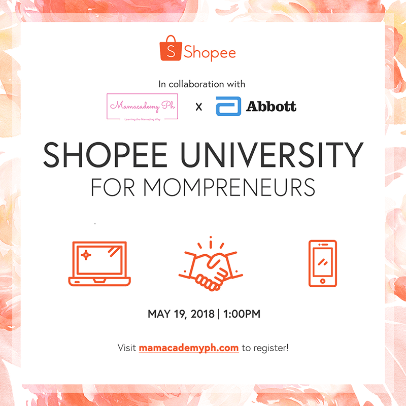 Shopee partners with Abbott and Mamacademy for Mom Entrepreneurs