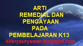 Arti Pembelajaran Remedial dan Pengayaan pada Kurikulum 2013