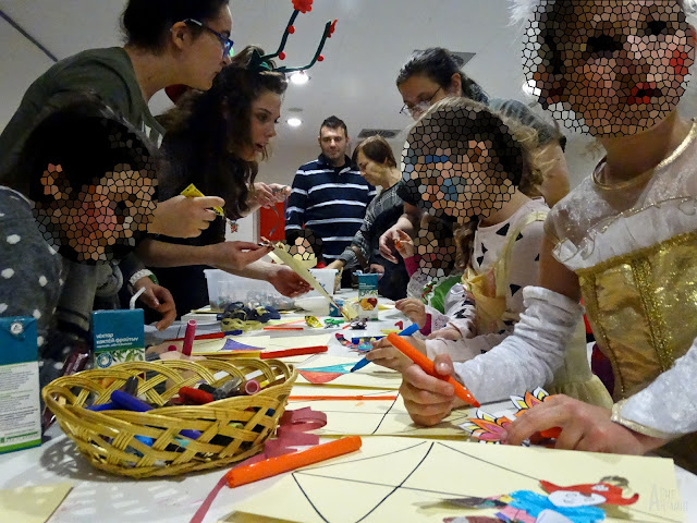 """Παιδική γιορτή """"Αποκριές στη γειτονιά μας"""" στην Τούμπα"""