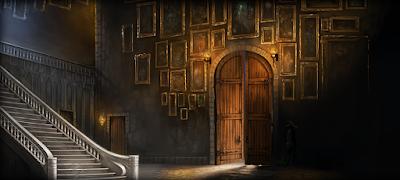 Il salone d'ingresso di Hogwarts