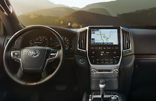 Land Cruiser Interiors: FM/AM CD player, 9.0 in. touch-screen