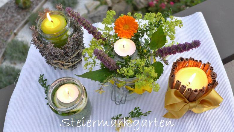 Duftkerzen-Steiermarkgarten