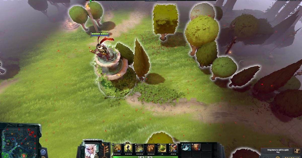Immortal Garden Dota 2 Mods